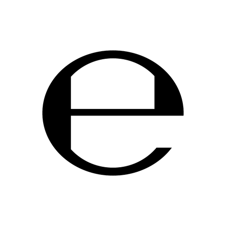 Estimated sign, packaging e symbol. Vector illustration