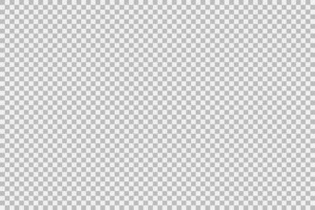 Empty rectangular transparent background. Vector illustration