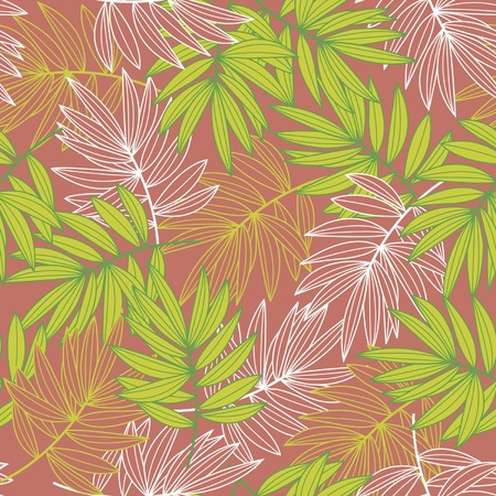 Leaves in autumn colors Illustration