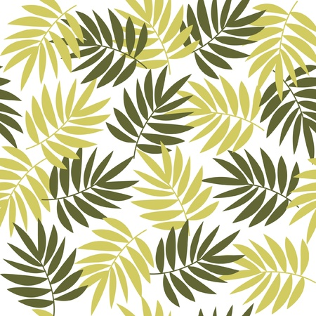 Background leaves Illustration