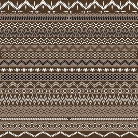 ilustraciones africanas: Textura con adornos geométricos