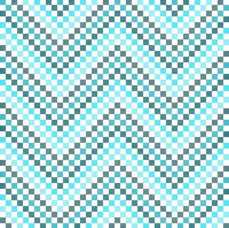 Zigzag pattern in blue color Illustration