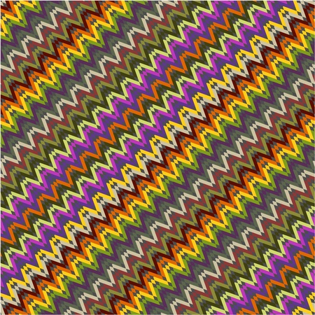 Background zig zag colorful eps Illustration