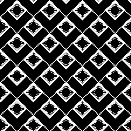 Ethnic black texture Vector
