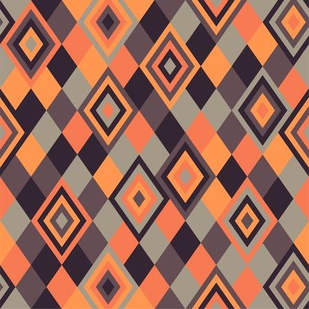 Geometric pattern - rhombus eps Vector
