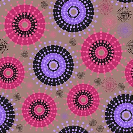 Multicolored circle background eps