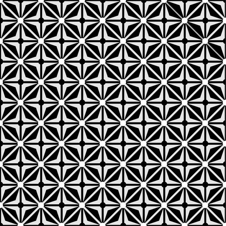 Optical illusion with geometric drawing eps Illustration