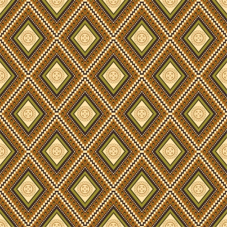 Seamless vector traditional wallpaper Vector