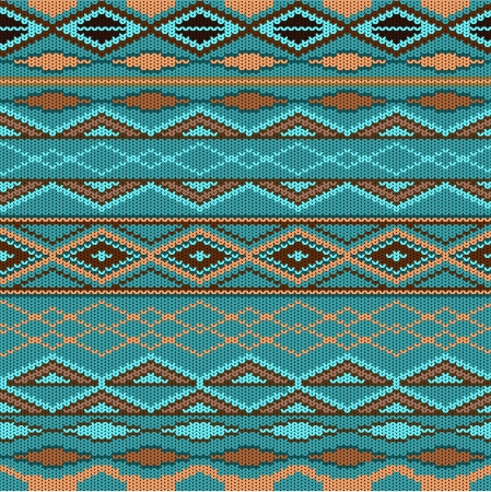 Pattern - knitted wool