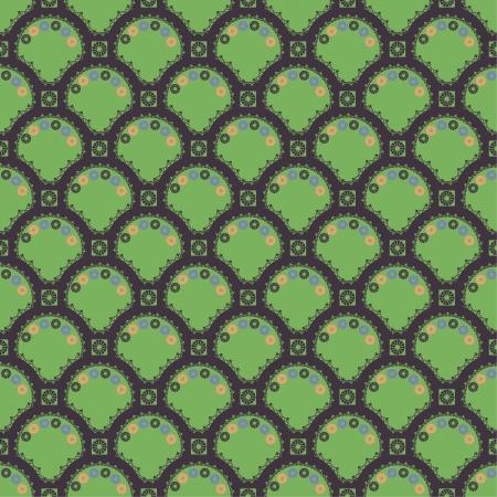 Pattern oriental texture Illustration