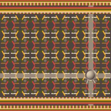 entwine: Pattern con motivi decorativi geometrici