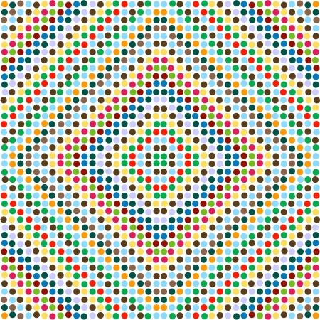 pastel colours: Lunares en colores pastel en diagonal