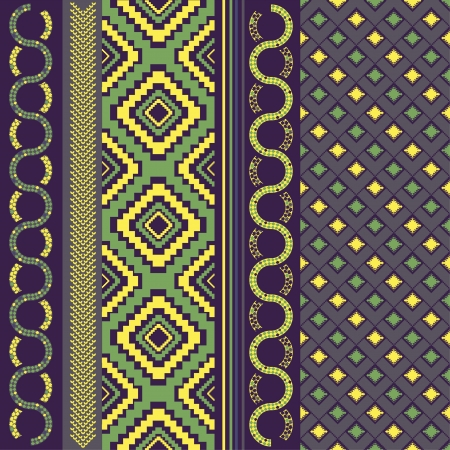 Various motifs in assorted color