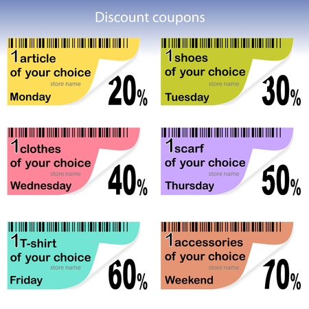 Daily coupons for sale