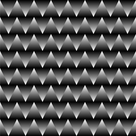 Design in zigzag - black and white Vector