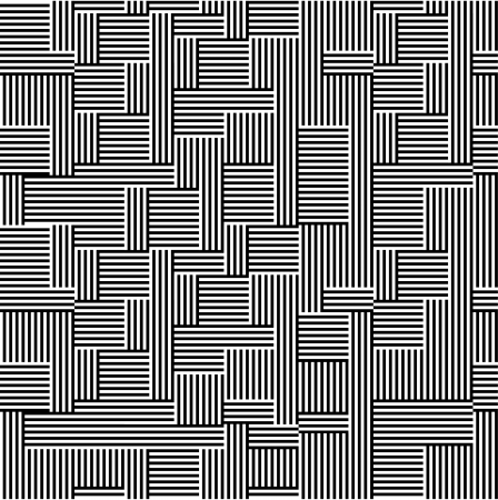 Pattern - line black and white Stock Vector - 15077911