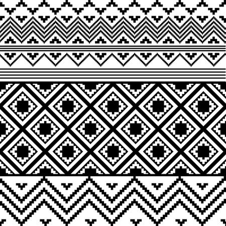 entwine: Nero e bianco, composizione etnica Vettoriali