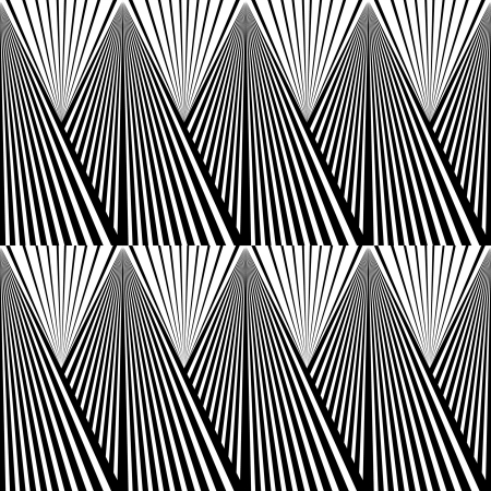 trickery: Abstract background in black and white tone