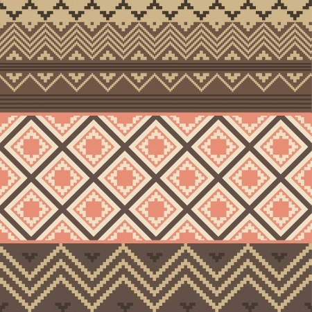old square: Colored ethnic texture