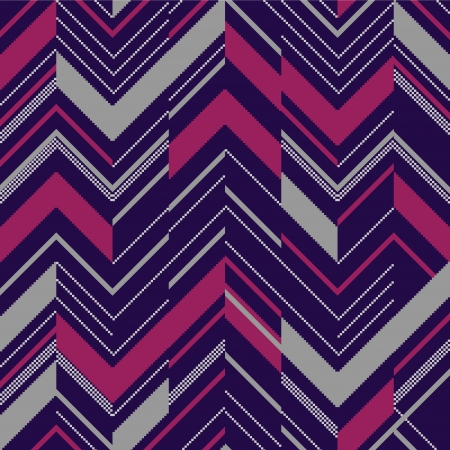 Pattern in zigzag colored Illustration