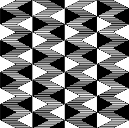 Triangle black and white seamless pattern Stock Vector - 16160423