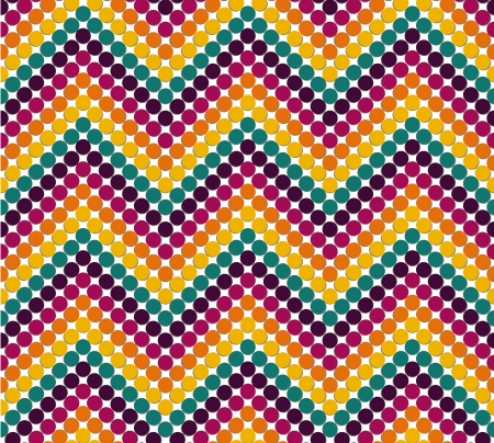 Zigzag pattern in cute color Stock Vector - 17187263