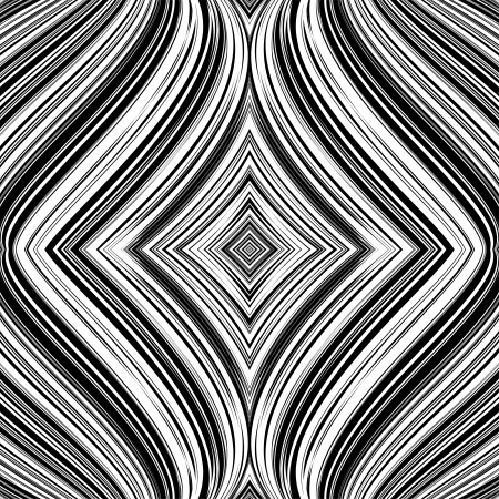 Abstract pattern with whirl movement Illustration