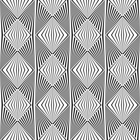virtual sculpture: Diamond seamless pattern