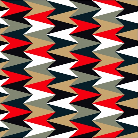 african grey: Abstract pattern colored