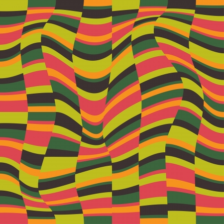 tectonic: Optical illusion - colored background