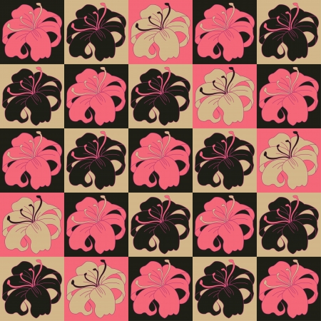 paeony: flower pattern