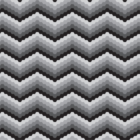 Black white zigzags