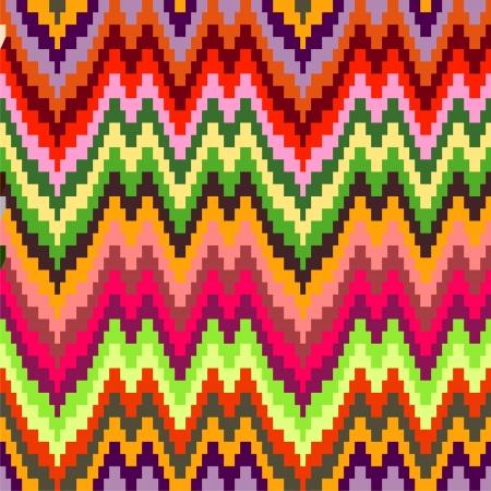 zigzag: Seamless geometric pattern in zigzags