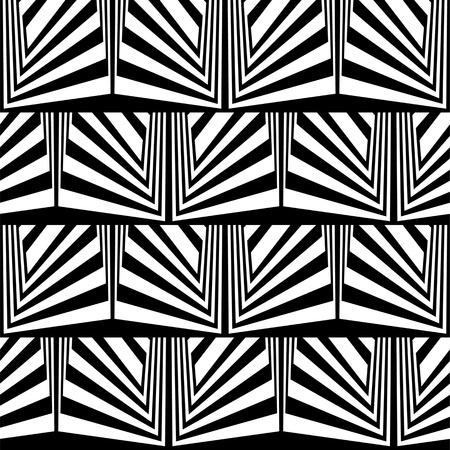 arte optico: Ilusión óptica en blanco y negro