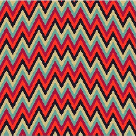 Pattern irregularly zigzag Vector