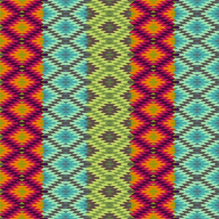 Abstract ethnic pattern - 1 Illustration