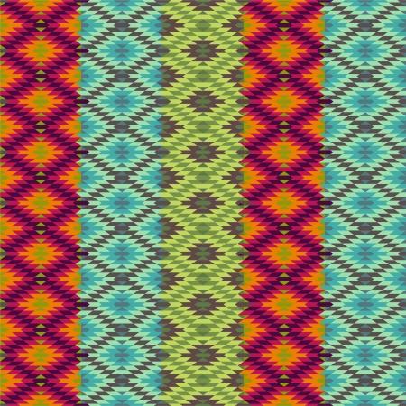 Abstract ethnic pattern - 1 Illustration