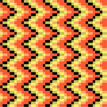 kilim: Colored ethnic texture in zig zag