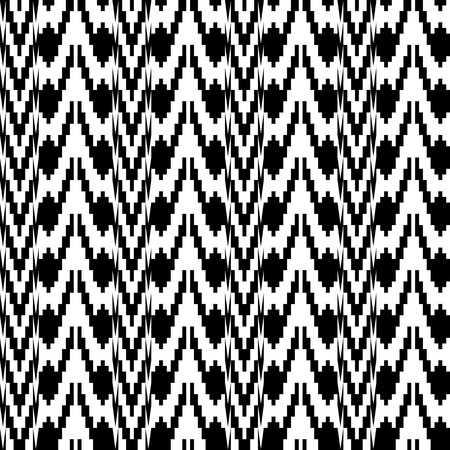 Optical illusion - pattern with parallel lines