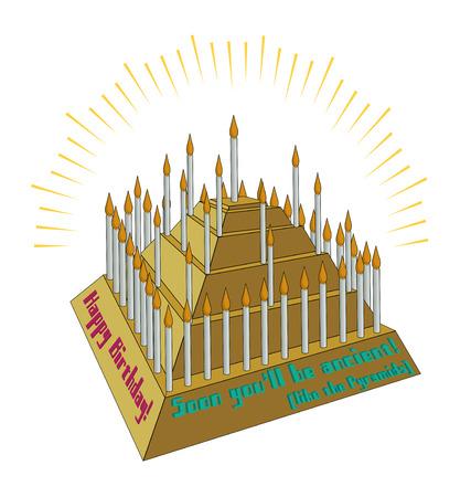 Birthday Card Metaphor: Ancient as the Pyramids