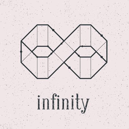 幾何学的な無限大です。背景別にグループ化され、使用することができます。