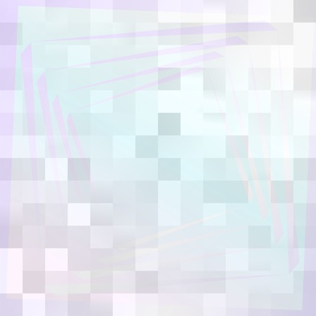 Bright Pixel Background with Pale Colors and White. Pearly Texture. Vector