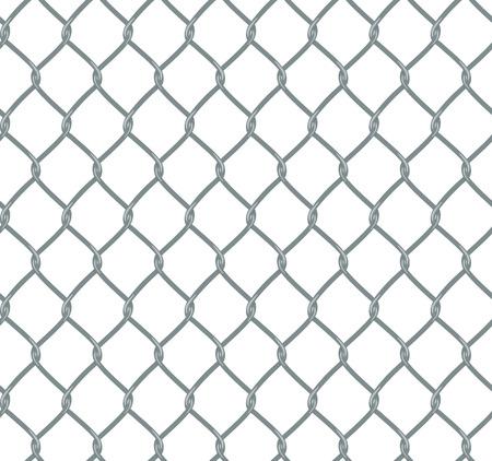 clôture de la chaîne dans le style plat, la composition est transparente et le fichier contient le motif nuance originale.