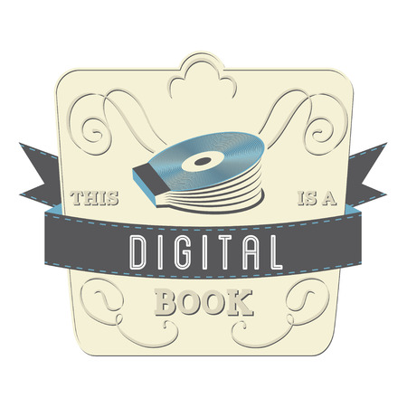 clarity: Book Style and Type Label: Digital Book Illustration