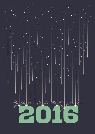 kwaśne deszcze: Deszcz meteorytów spadających na rok 2016 w formacie pionowym