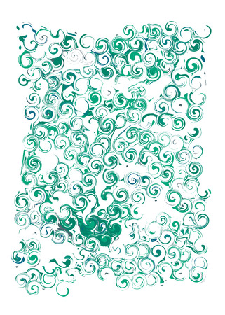 monotype: Marble paper vector made