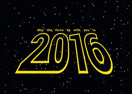 be: May the force be with you in 2016
