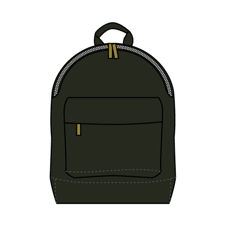 Backpack for school or just for city dwellers. Çizim