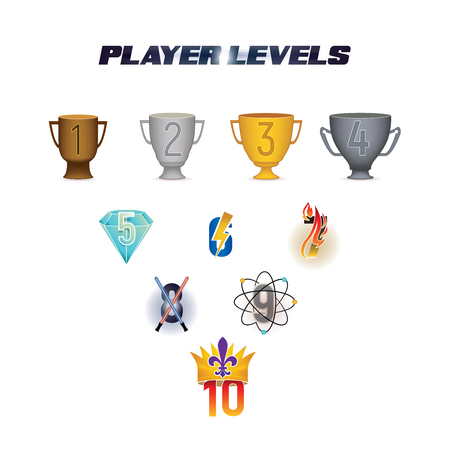 Player Levels from 1 to 10 in the gaming industry