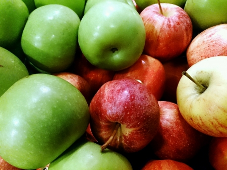 sustenance: Healthy Red and Green Apples